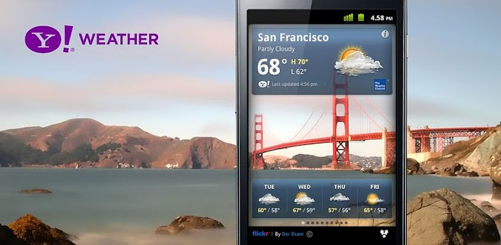 Yahoo Weather Android APK