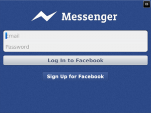 facebook-messenger-login